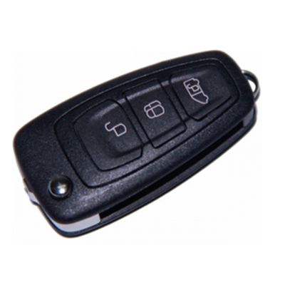 QKY031003 for Ford Transit 3 button  flip remote control key 433MHZ 4D63 BK2T-15K601-AB
