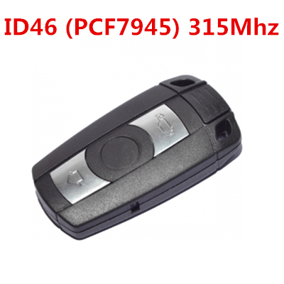 QKY004008 for BMW 3 button Smart Card 3 5 Series 315mhz ID46 (PCF7945)