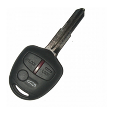 QKY001003 For Mitsubishi 3 Button Remote Key 433MHZ