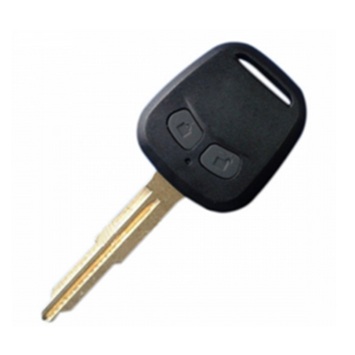 QKY001005 for Mitsubishi Remote Key 2 Button With Metal Logo