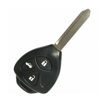 QKY013004 for Toyota Printer Friendly Tell a Friend Toyota 3 button Remote Key(Toy47 blade) 314.4MHz 67 chip