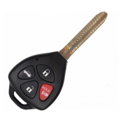 QKY013005 for Toyota 4 button Remote Key 314.3Mhz. 67chip