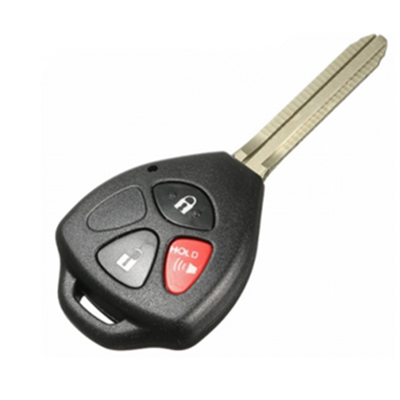 QKY013007 for Toyota RAV 2+1 button Remote Key (USA) 313.8Mhz