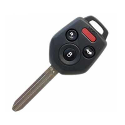 QKY014008 for Subaru 3+1Button Remote Key 315MHZ 4D60 Chip