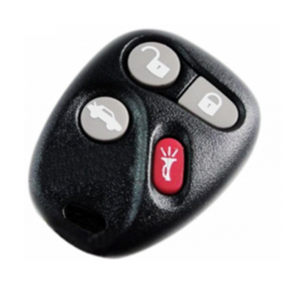 QKY020002 for Cadillac 4 button Remote set(433MHz)