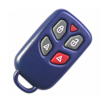 QKY029006 Fob Key for Fiat Control Set 4 Button 433MHz