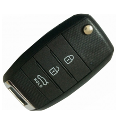 QKY035007 Folding Flip Remote Key 3 Button 433MHz For Kia K3 With 4D70 Chip